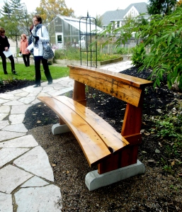 Bench made by Larry Owen, Ohio Governor's Residence