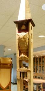 Detail of Kenyon's ceremonial mace