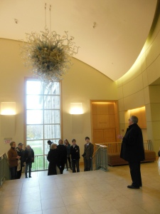 Lobby of Storer Hall, Kenyon College