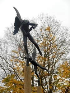 Angels by Carl Milles, Kenyon College