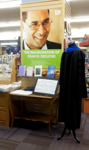 Inauguration display, Kenyon College Bookstore