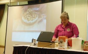 Susan Reid, King Arthur Flour Traveling Baking Demo, Akron, Ohio
