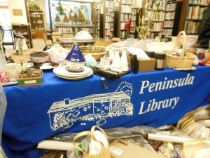 Bizarre Bazaar, Peninsula Library & Historical Society