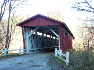 Everett Road Covered Bridge, Peninsula