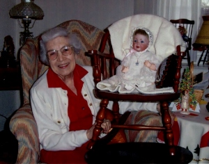 Jane Born Heinmiller with Hilda