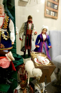 Nativity display, Marian Library, University of Dayton