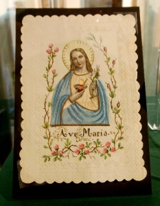 Holy card, Marian Library, University of Dayton
