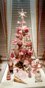 Pink feather tree, Antique Christmas, Taft Museum