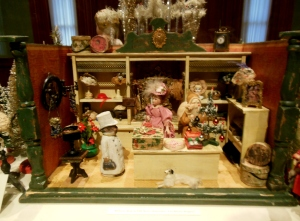 Miniature store, Antique Christmas, Taft Museum
