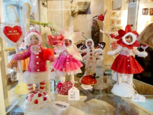 Vintage by Crystal figures for sale at the Taft Museum