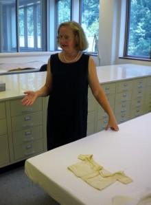 Loreen Finkelstein at Colonial Williamsburg