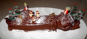 Sphere's Yule Log Cake