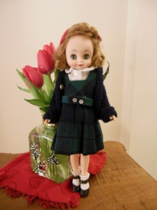 My Betsy McCall doll in her CSG uniform