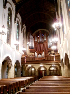 Beckerath organ, First Congregational Church