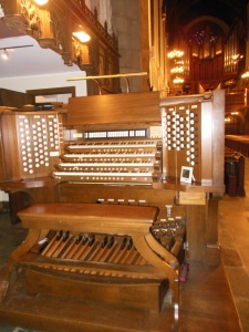 Kimball organ, First Congregational Church