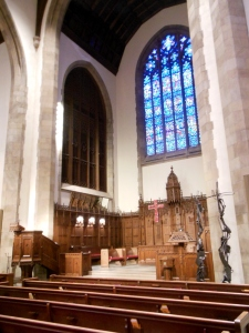 Chancel, First Congregational Church