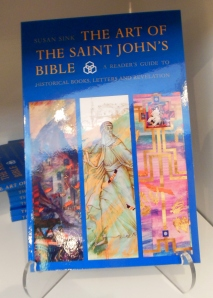 Saint John's Bible book for sale at the Canton Museum of Art