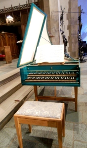 Ben Bechtel harpsichord, First Congregational Church