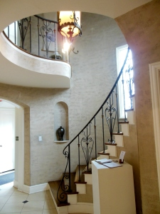 Stairway, Dublin Arts Council, 7125 Riverside Drive, Dublin, Ohio