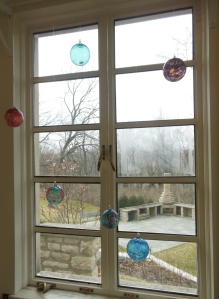 View from the sunroom/gift shop, Dublin Arts Council, 7125 Riverside Drive, Dublin, Ohio