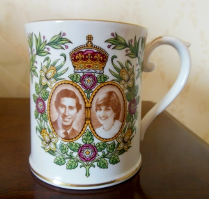 Spode's Royal Wedding commemorative mug