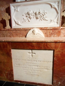 Tomb of Bishop Sylvester Rosecrans, St. Joseph's Cathedral, Columbus