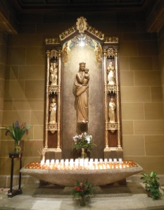 he Shrine of Our Lady, St. Joseph Cathedral