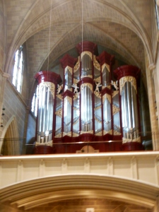 Grand gallery organ, St. Joseph Cathedral