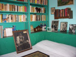 Photograph of Louis Bromfield in his study, Malabar Farm