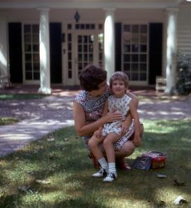 At FDR's Little White House, 1974
