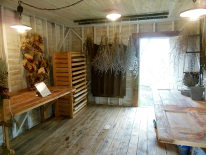 Drying shed, Ohio Herb Education Center, Gahanna