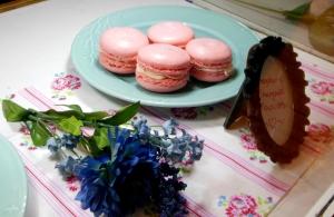 Macarons for sale at Koko Tea Salon and Bakery, Gahanna