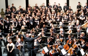 Westerville Symphony Orchestra  and Otterbein University Combined Choirs performing the Sea Symphony