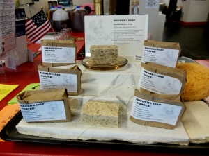 Beer soap for sale at Buckeye Brewcraft