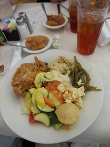 Southern lunch at Mary Mac's Tea Room