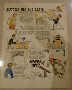 Milton Caniff, Aesop Up To Date, Billy Ireland Cartoon Library & Museum