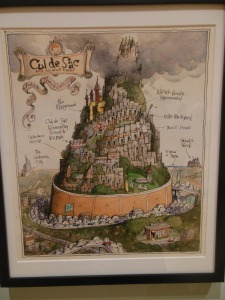 Richard Thompson's Cul de Sac image, Billy Ireland Cartoon Library & Museum