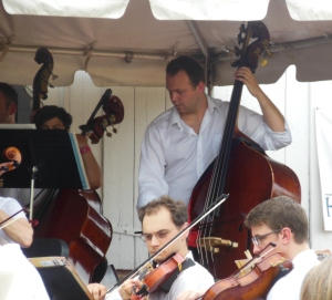 Westerville Symphony Orchestra musicians in concert