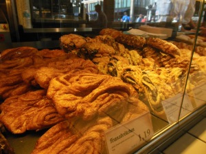 Pastries at Kamps Backstube, Berlin, Germany