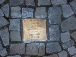 Stolperstein for Martha Marckwald Liebermann, Berlin, Germany
