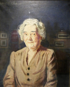 Portrait of Mary Thurber by Emerson Burkhart