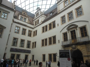 Courtyard, Dresden Royal Palace