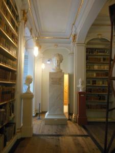 Bust of Johann Wolfgang von Goethe, Anna Amalia Library