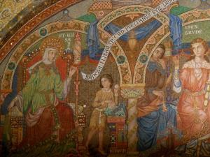 St. Elizabeth mosaic, Wartburg Castle