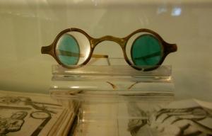 Bach's spectacles, Bach Haus, Eisenach