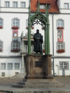 Martin Luther statue, Wittenberg