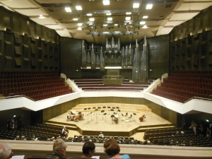 Performance hall, Gewandhaus, Leipzig