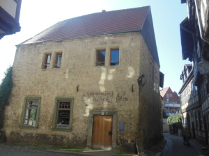 Oldest stone house, Quedlinburg