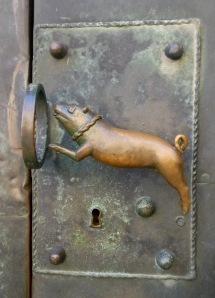 St. Servatius door handle, Quedlinburg