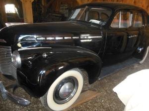 1940 Chevy Master Deluxe sports sedan, Gallant Farm Preserve